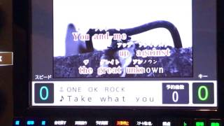【cover】Take what you want/ONE OK ROCK ft. 5SOS【カラオケ】
