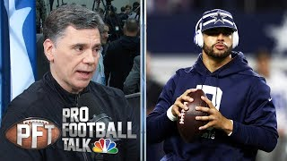 Dak Prescott, Cowboys haven't talked about deal since Sept. | Pro Football Talk | NBC Sports