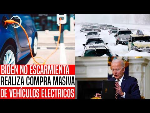 RESISTE BIDEN! DESPUÉS DE CRISIS DE RENOVABLES EN TEXAS ANUNCA COMPRA MASIVA DE AUTOS ELÉCTRICOS