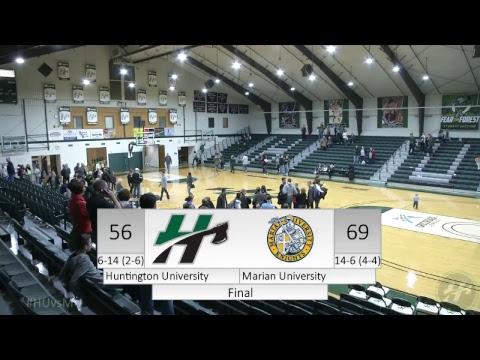 HU Men's Basketball vs. Marian University -- 1.13.2018