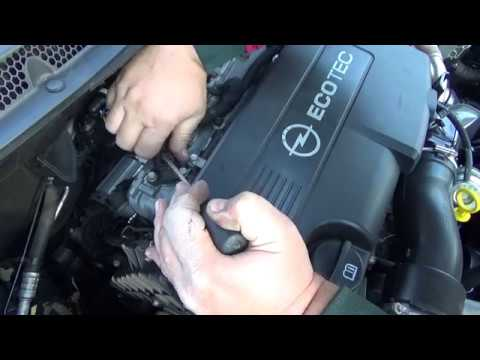 how to clean and change MAP sensor opel astra j 1 7 cdti