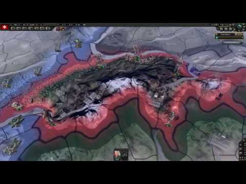 LETS PLAY - Hearts of Iron IV: Millennium Dawn - Switzerland - Part 1 - DB333