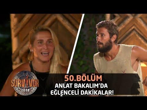 Anlat Bakalım'da eğlenceli dakikalar! | 50. Bölüm | Survivor 2018