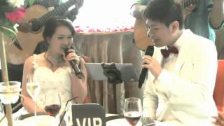 John & Vanessa - Singapore Wedding ParkRoyal on Pickering