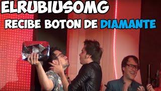 ELRUBIUSOMG RECIBE BOTÓN DE DIAMANTE #10AñosdeYoutube - [DANICREED017]
