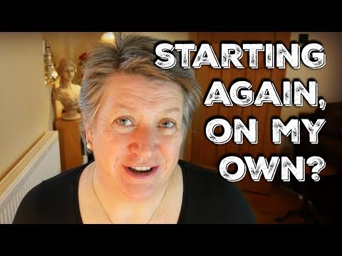 Starting Again On My Own? (aged over 50)