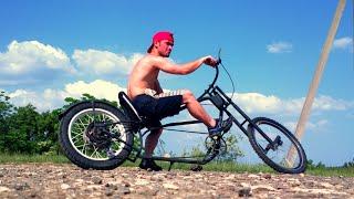 чоппер,chopper bike(что можно собрать из хлама., 2014-05-03T08:10:15.000Z)