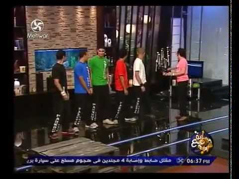 Parkour Egypt in Sa3a Ma3 Sherif program on Mehwar TV channel.