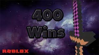 400 WINS!!!! Roblox skywars