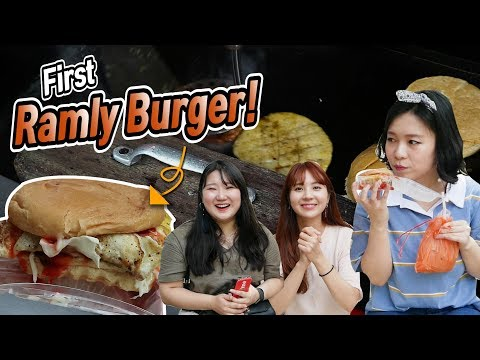 Korean Girls Tried Ramly Burger For The First Time!  L  Blimey In KL2