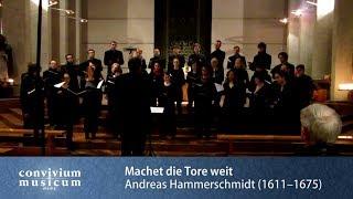 convivium musicum mainz: Andreas Hammerschmidt - Machet die Tore weit