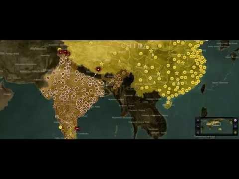 China vs India Simulation part #2