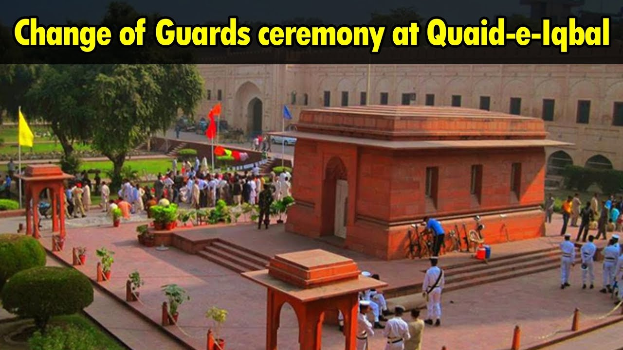 Change Of Guards Ceremony At Mazar E Iqbal 24 News Hd Youtube