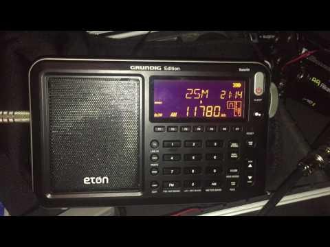 DXing with the Boni Whip and Eton Satellit: Radio Nacional da Brasilia 11780 kHz