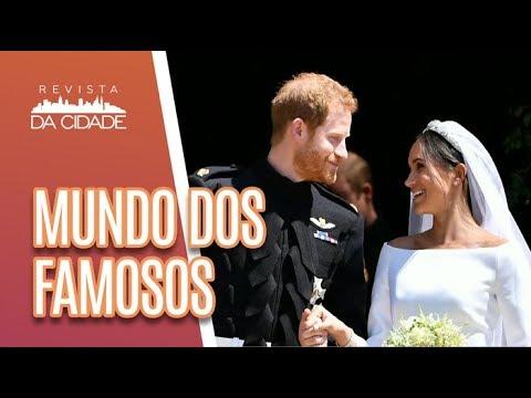 POLÊMICA De Maria Ribeiro Contra O Casamento Real -  Revista Da Cidade (21/05/18)