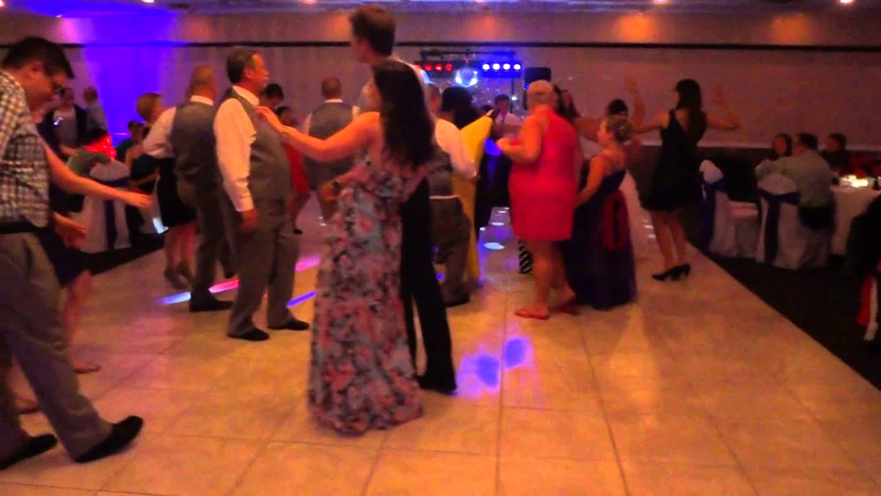 EPIC Slow Motion Wedding Entrance Bridal Party Dance