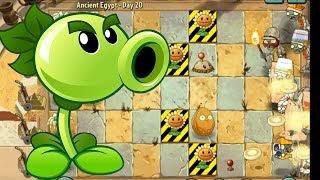 Plants vs Zombies 2 - Egypt Day 15, 16, 17, 18 ,19, 20 - full walkthrough PVZ 2