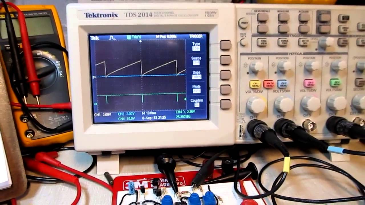 Op Amp Circuit Using Lm224