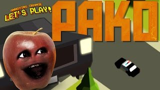 Midget Apple plays PAKO - Car Chase Simulator!
