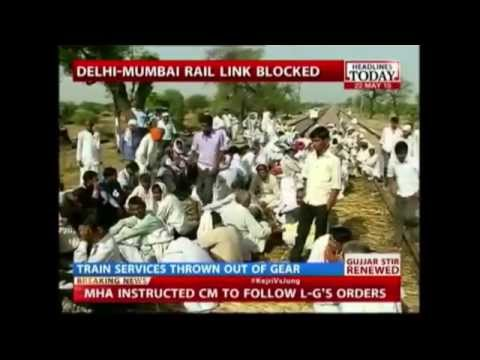9 Trains Cancelled, 61 Diverted as Gujjars Protest in Rajasthan