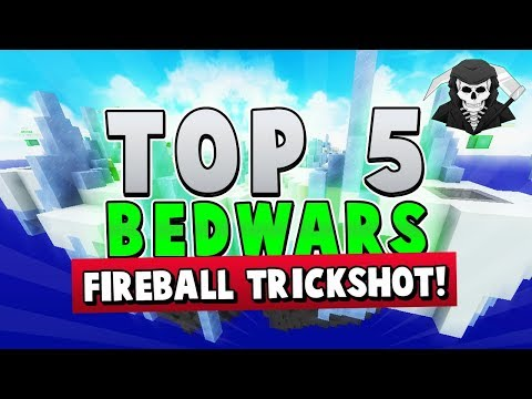 180 FIREBALL TRICKSHOT! - Top 5 BED WARS PLAYS of the Week!
