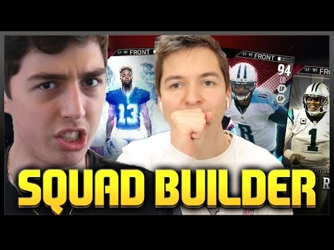 CRAZY 1 MILLION COIN SQUAD BUILDER! MADDEN 16 VS TDPRESENTS
