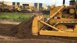 caterpillar d7g ex army with winch only 3 300 hours for sale at www lamersmachinery com