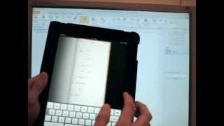 MailEnable Video: CardDAV - Create on iPad