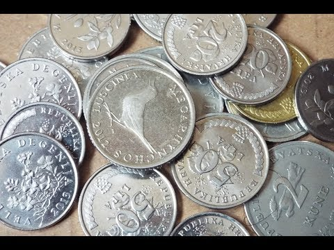 Croatian Coin Collection (2018)