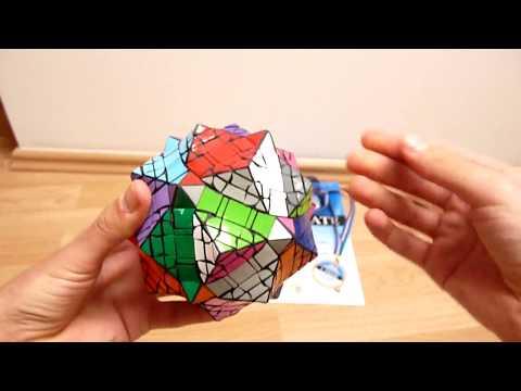 Radu's Octopus - First Teraminx Mod Ever - 1st Place Puzzle building event @ Euro 2010