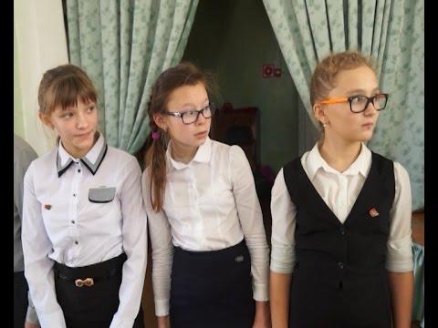 Юные добровольцы