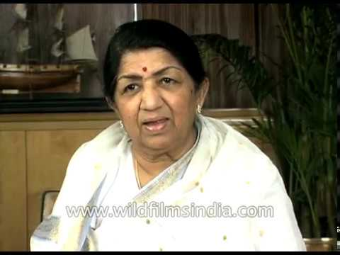 Lata Mangeshkar speaks about a perfume named after her