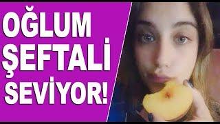Hamile Hazal Kaya şeftali aşerdi