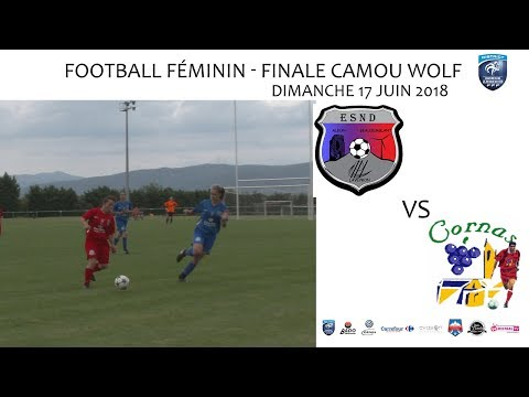 2018 06 17 Rencontres Sportives   Football Finale CAMOU WOLF   ES NORD vs AS CORNAS