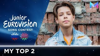 Junior Eurovision 2018 - MY TOP 2 (so far) | +🇷🇺🇧🇾