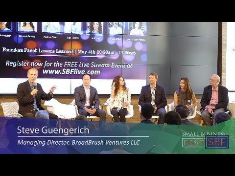 Founders Panel - Moderated By Steve Guengerich