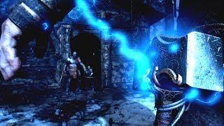 God of War PS4 - Secret Ending THOR BOSS FIGHT Preview