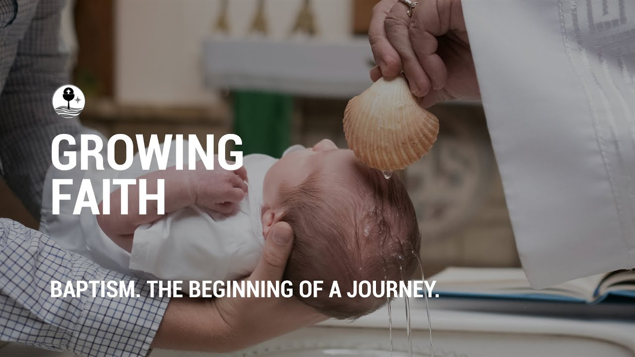 Baptism. The beginning of a journey.
