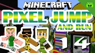 MINECRAFT Adventure Map # 14 - Pixel Jump & Run «» Let
