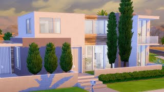 I Built a Hollywood Mansion in The Sims 4