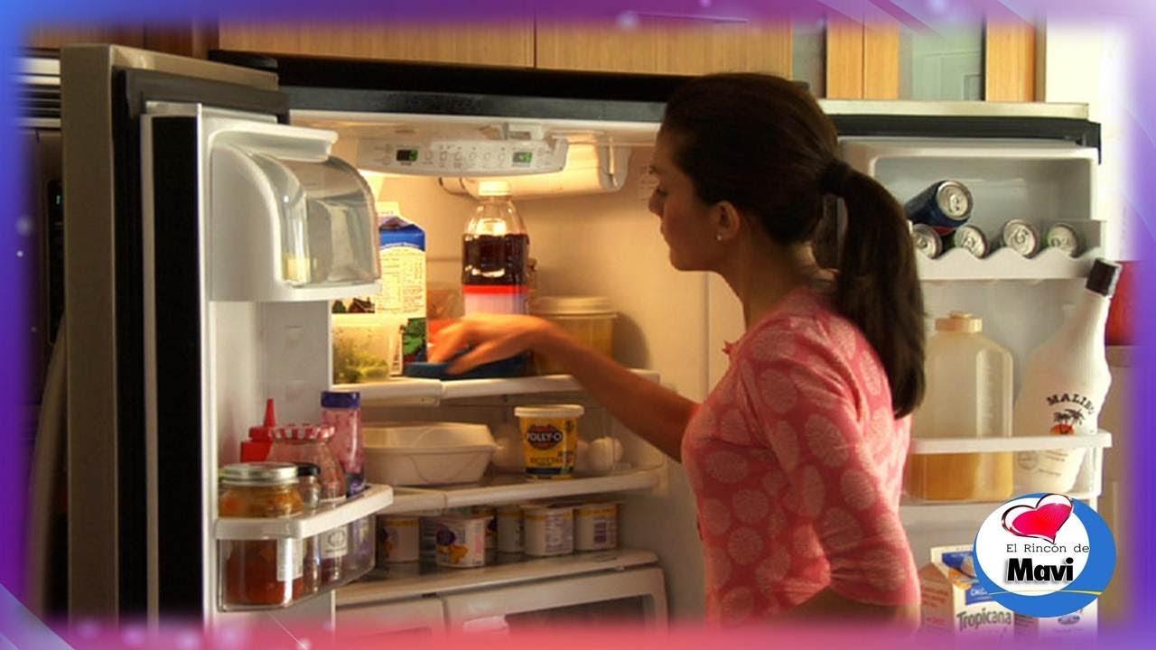Trucos caseros para eliminar olores de la nevera como quitar los malos olores del refrigerador - Como eliminar los malos olores ...