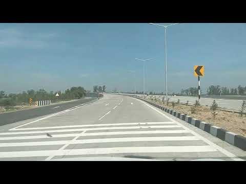 Amritsar Bathinda Newly Constructed National Highway