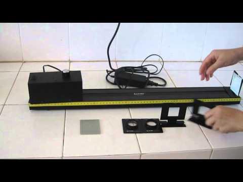 thí nghiệm đo tiêu cự của thấu kính phân kỳ