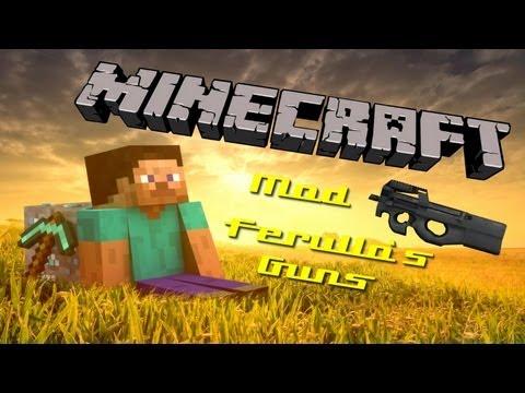 [1.4.7] Minecraft Tutorial : Ferullo`s Guns Mod [Deutsch] [HD]