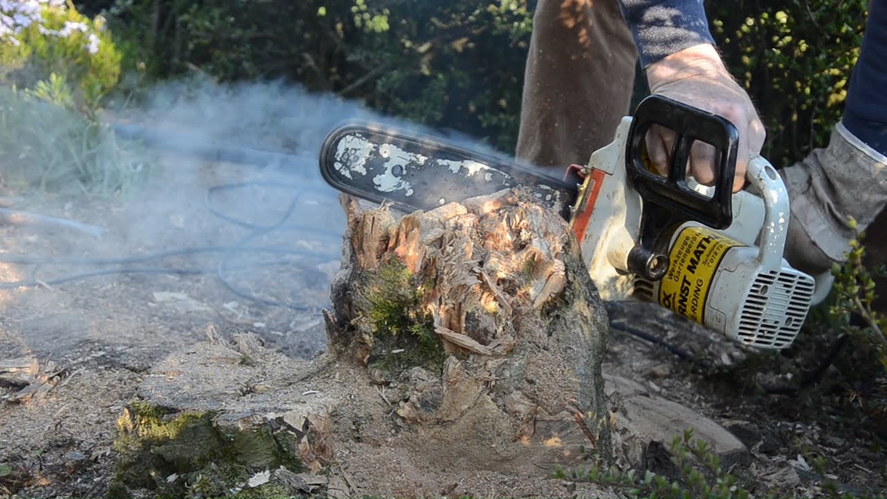 Chainsaw overheating