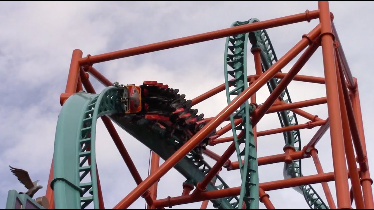 Tempesto Review HD Busch Gardens Williamsburg Roller Coaster