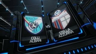 Highlights - C2 - Giornata 2 - Colli Albani-Stella Azzurra 4-3 - Futsal Fanner