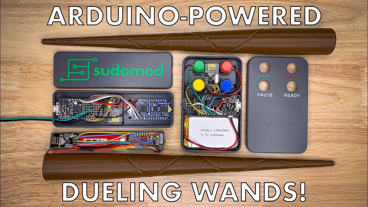 Harry Potter Dueling Wands via @sudomod_wermy « Adafruit Industries
