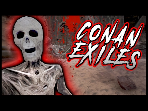 SKELETONS, SNAKES & Deadly Ancient Temple! - (Conan Exiles Part 5)
