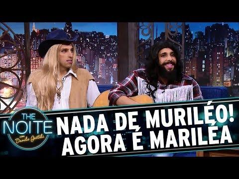 Muri & Léo se reinventa e vira Mari & Léa | The Noite (23/08/17)